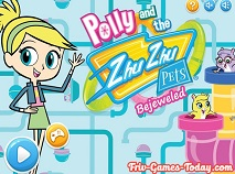 Polly si Zhu Zhu Pets Bejeweled