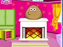 Pou Puzzle Room Decor