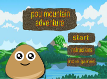 Pou Mountain Adventure