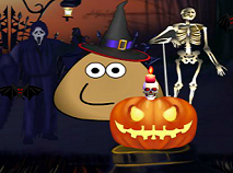 Pou Decoreaza de Halloween