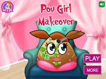 Pou Girl Makeover
