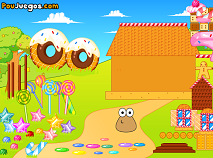 Pou Cookie House Decor
