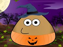 Pou si Costumele de Halloween