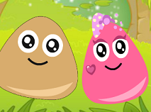 Pou and Princess Love