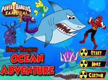 Power Rangers Aventura in Ocean