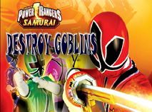 Power Rangers Destroy Goblins