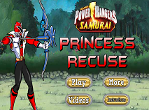 Power Rangers Samurai Princess Rescue
