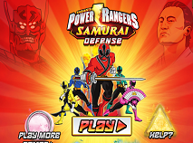 Power Rangers Samurai Defense