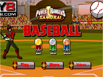 Power Rangers Samurai Baseball
