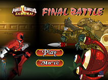 Power Rangers Samurai Final Battle