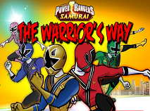 Power Rangers Samurai Warrior's Way