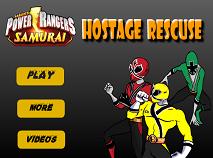 Power Rangers Samurai Salveaza Ostaticii