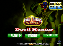 Power Rangers Samurai Devil Hunter
