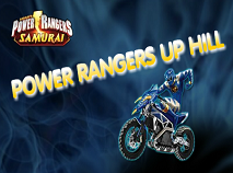 Power Rangers Samurai Up Hill