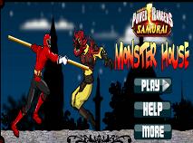 Power Rangers Samurai in Casa Monstrilor