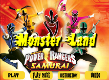 Power Rangers pe Taramul Monstrilor