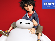Big Hero 6 Photobomb