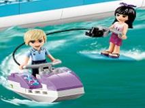 Prietenele Lego cu Skijet-ul