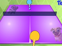 Prietenii Catelusi Ping Pong