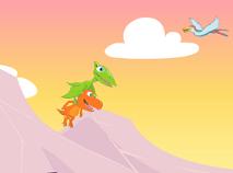 Prietenii Dinozauri Zboara