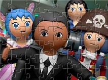 Prietenii Super 4 Puzzle