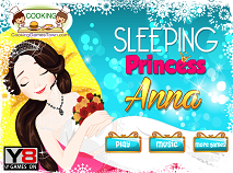 Sleeping Princess Anna