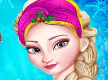 Printesa Elsa Pregatiri de Craciun
