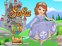 Princess Sofia the First Dress Up