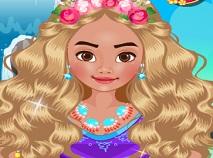 Princess Moana Dress Up