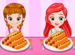 Printese Concurs de Mancat Hotdog