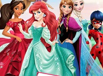 Printesele Disney Carte de Colorat