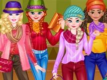 Printesele Disney Moda Edgy