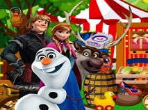 Printesele Frozen la Circ