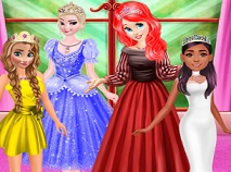 Princesses Color Dress