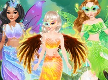 Princesses Fairies Dresses