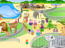 Peppa Pig Decorate Zoo