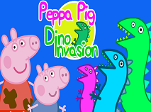 Purcelusa Peppa si Invazia Dinozaurilor