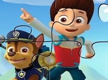 Puzzle Jigsaw cu Paw Patrol