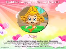 Puzzle Rotund cu Baloane si Guppy