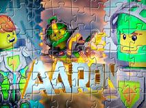 Aaron Lego Nexo Knights Puzzle