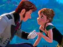 Puzzle cu Ana si Hans
