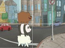 We Bare Bears Sliding Puzzles