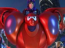 Puzzle cu Big Hero 6