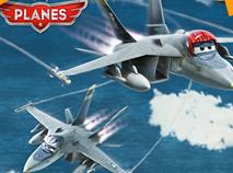 Bravo and Echo Planes Puzzle