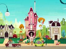 Puzzle cu Casa lui Eliot Kid