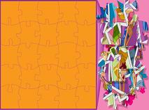 Puzzle cu Clover