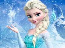Puzzle cu Elsa