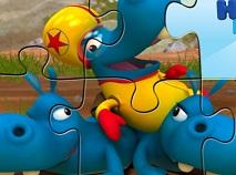 Puzzle cu Familia Happos 2