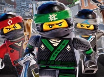 Lego Ninjago Movie Slider Puzzle