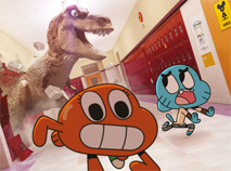Gumball and Darwin Puzzle
